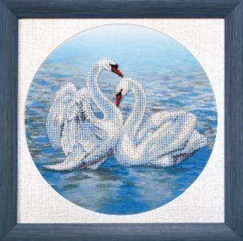 БЮ502 Танец любви чм (Чарiвна Мить, Чарiвна Мить) канва с рисунком для вышивания бисером hobby