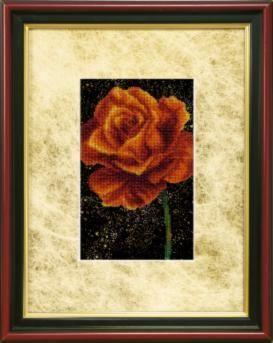 БЮ510 Роза чм (Чарiвна Мить, Чарiвна Мить) канва с рисунком для вышивания бисером hobby