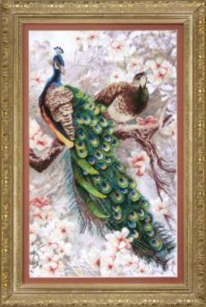 ВТ519 Два павлина в цветущей магнолии чм (Чарiвна Мить, Чарiвна Мить) аддиктаболл шар лабиринт малый