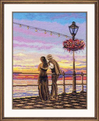 926 Романтический вечер (Овен) (Овен, Овен) набор для вышивания крестом зайчата овен 694