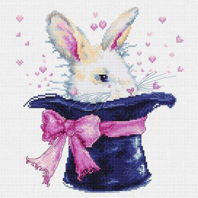 B2302 Кролик в шляпе (LucaS) (LucaS, LucaS) b2295 шляпа к шляпе lucas lucas lucas