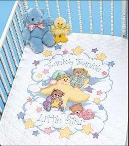 3171DMS Диньдинь (Dimensions, Dimensions) одеяло стеганое из хлопковой вуали с рисунком колорблок