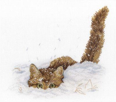Н557 Кот снегу (МП ) (МП , МП )