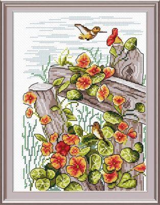 М014 Глоток нектара (МП Студия) (МП Студия, МП Студия) набор для вышивания рс студия пейзаж 17 см х 13 см 835