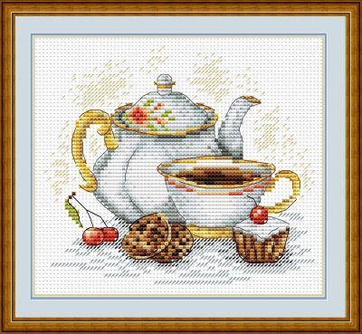 М092 Утренний чай (МП Студия) (МП Студия, МП Студия) набор для вышивания рс студия пейзаж 17 см х 13 см 835