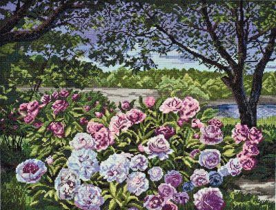 АН026 Садовые пионы (АбрисАрт, АбрисАрт)