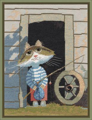 977 Рыбачок (Овен) (Овен, Овен) набор для вышивания крестом зайчата овен 694