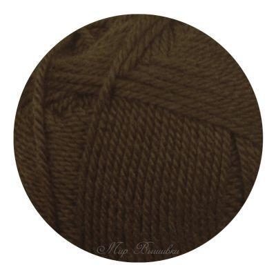 Мериносовая Цвет.251 Коричневый (Пехорка, Пехорка) пряжа для вязания пехорка вискоза натуральная цвет камелия 125 400 м 100 г 5 шт
