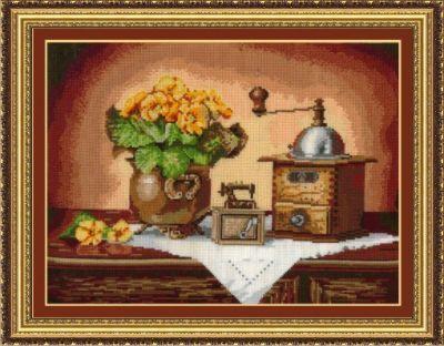 К14 Кофемолка (Сделай своими руками, Сделай своими руками) набор для вышивания крестом сделай своими руками времена года лето 10 х 15 см