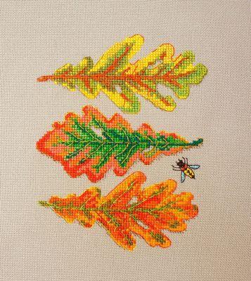 16.001.04 Дубовые листья (МИ) (Марья искусница, Марья искусница)