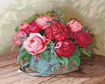 П36 Пионы и розы (Сделай своими руками, Сделай своими руками)