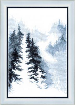 ВТ158 Зимний лес чм (Чарiвна Мить, Чарiвна Мить) набор для квиллинга чаривна мить незабудки 6 х 5 5 см