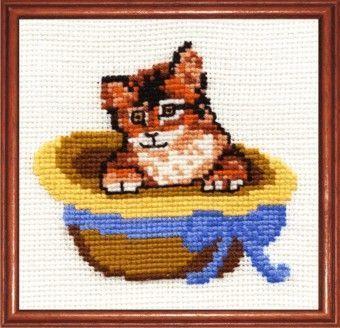 К12 Котёнок (Сделай своими руками, Сделай своими руками) набор для вышивания крестом сделай своими руками времена года лето 10 х 15 см
