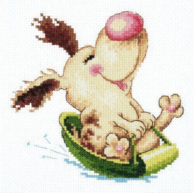 1620 Щенячий восторг (Чудесная игла, Чудесная игла) набор для вышивания крестом мелодия любви чудесная игла 40 63