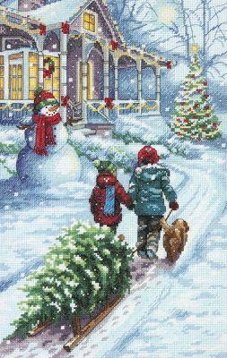 8960DMS Традиция в Рождество (Dimensions, Dimensions)