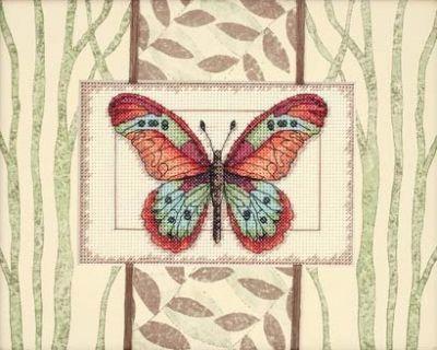 65026DMS Бабочки и листья (Dimensions, Dimensions) коробка подарочная veld co свадебный бабочки цвет слоновая кость 18 х 18 х 26 см
