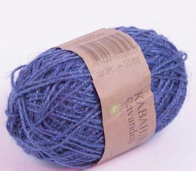 Кавандоли Цвет.100 Корол.синий (Пехорка, Пехорка) пряжа для вязания пехорка вискоза натуральная цвет камелия 125 400 м 100 г 5 шт