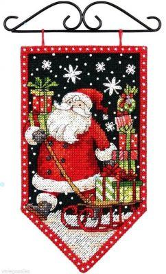 74136DMS Winter Mini Banner (Dimensions, Dimensions)