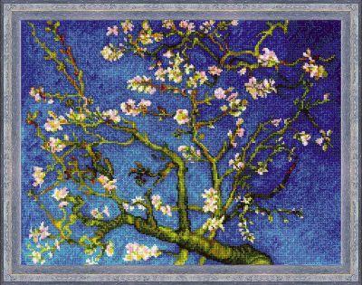 1698 Цветущий миндаль по мотивам картины Ван Гога (Сотвори Сама, Сотвори Сама) екатерина слинкина создатели сотвори меня снова