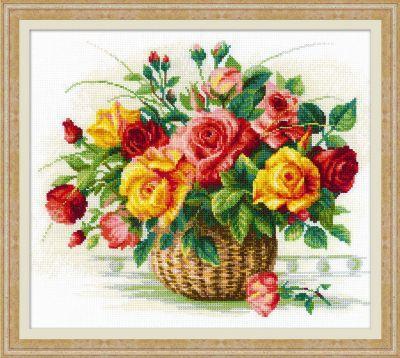 1722 Корзина с розами (Сотвори Сама, Сотвори Сама) екатерина слинкина создатели сотвори меня снова