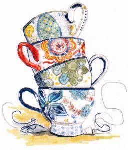 1034 Чайная коллекция (Овен) (Овен, Овен) 445 набор для вышивания под фонарем овен