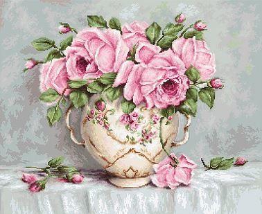 B2319 Pink Roses (LucaS) (LucaS, LucaS)