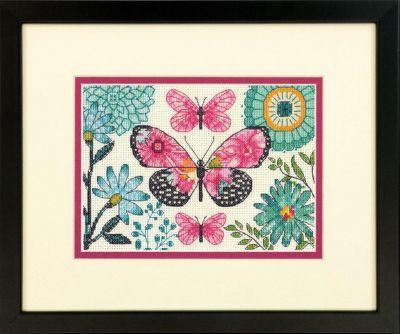 65178DMS Мечта бабочки (Dimensions, Dimensions) 3533470dms букет из садовых цветов dimensions dimensions