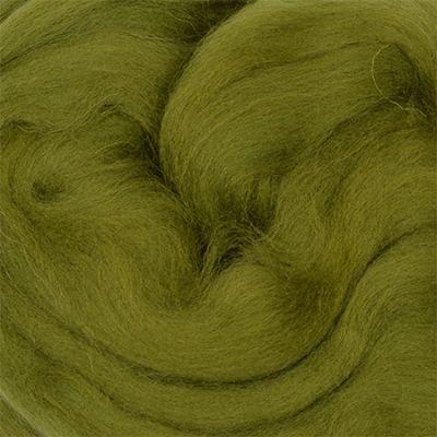 Шерсть для валяния полутонкая Цвет.448 Светло оливковый (Пехорка, Пехорка) набор для творчества hobby time шерсть для валяния полутонкая гребенная лента суровая 50гр