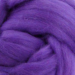 Шерсть для валяния полутонкая Цвет.78 Фиолетовый (Пехорка, Пехорка) набор для творчества hobby time шерсть для валяния полутонкая гребенная лента суровая 50гр