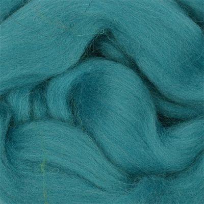 Шерсть для валяния полутонкая Цвет.752 Дымчато бирюзовый (Пехорка, Пехорка) набор для творчества hobby time шерсть для валяния полутонкая гребенная лента суровая 50гр