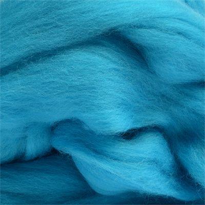 Шерсть для валяния полутонкая Цвет.172 Яр.голубой (Пехорка, Пехорка) набор для творчества hobby time шерсть для валяния полутонкая гребенная лента суровая 50гр