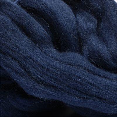 Шерсть для валяния полутонкая Цвет.04 Т.синий (Пехорка, Пехорка) набор для творчества hobby time шерсть для валяния полутонкая гребенная лента суровая 50гр