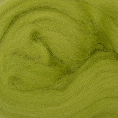 Шерсть для валяния полутонкая Цвет.119 Горох (Пехорка, Пехорка) набор для творчества hobby time шерсть для валяния полутонкая гребенная лента суровая 50гр