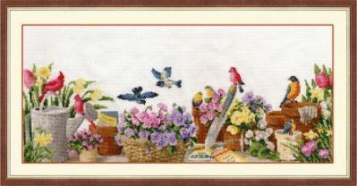РС014 Дачный натюрморт. Райский сад (Золотое Руно, Золотое Руно)