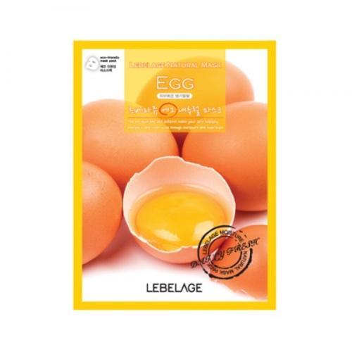 Тканевая маска для лица с экстрактом яйца, 23 мл (Lebelage, Lebelage)
