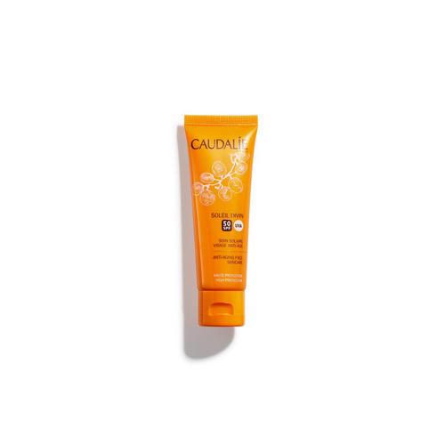 Купить Caudalie Антивозрастной солнцезащитный крем для лица SPF 50, 40 мл (Caudalie, Teint&Soleil Divin), Франция