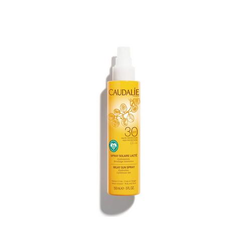Купить Caudalie Солнцезащитное молочко-спрей для тела и лица SPF 30, 150 мл (Caudalie, Teint&Soleil Divin), Франция