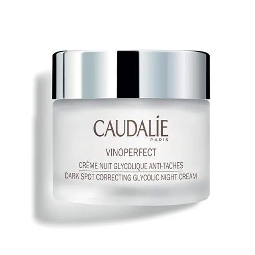 Caudalie Ночной крем для сияния кожи с гликолевой кислотой Виноперфект 50 мл (Caudalie, Vinoperfect)