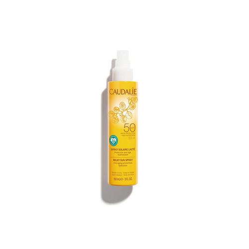 Купить Caudalie Солнцезащитное молочко-спрей для тела и лица SPF 50, 150 мл (Caudalie, Teint&Soleil Divin), Франция