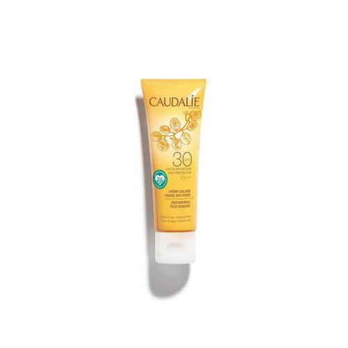 Купить Caudalie Антивозрастной солнцезащитный крем для лица SPF30, 50 мл (Caudalie, Teint&Soleil Divin), Франция