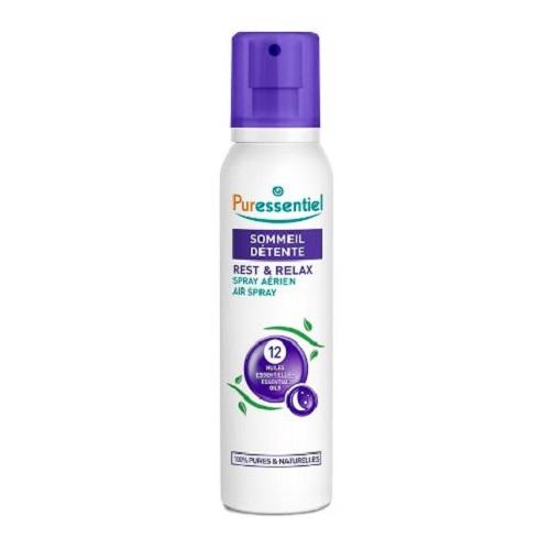 Puressentiel Спрей для воздуха 12 эфирных масел 200 мл (Puressentiel, Хорошее самочувствие) puressentiel органическое массажное масло отдохнуть и расслабиться 100 мл puressentiel хорошее самочувствие