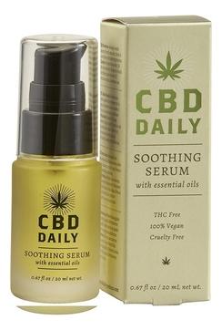 CBD DAILY Противовоспалительная сыворотка с коноплей Daily Soothing Serum, 20 мл (CBD DAILY, Уход за кожей)