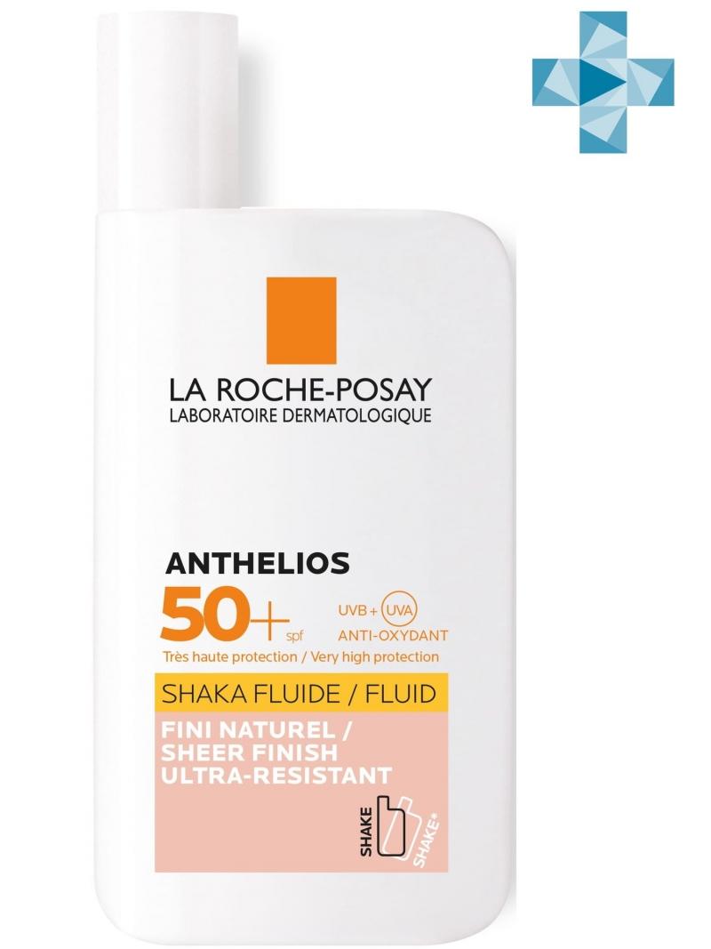 Shaka Флюид тонирующий для лица и кожи вокруг глаз SPF 50 50 мл (La RochePosay, Anthelios) anthelios xl флюид тонирующий 50 купить