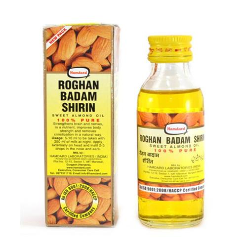 Parachute Roghan Badan Shirin Масло сладкого миндаля 100 мл (Масло сладкого миндаля)