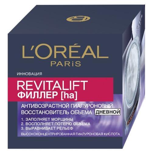 REVITALIFT Антивозрастной крем Филлер для лица дневной 50мл (LOreal, Revitalift) l oreal paris revitalift филлер маска для лица revitalift филлер маска для лица