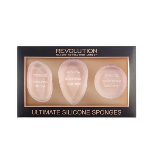Набор силиконовых спонжей Ultimate Silicone Sponge Set (Makeup Revolution, Аксессуары) makeup revolution ultimate silicone sponge set набор силиконовых спонжей