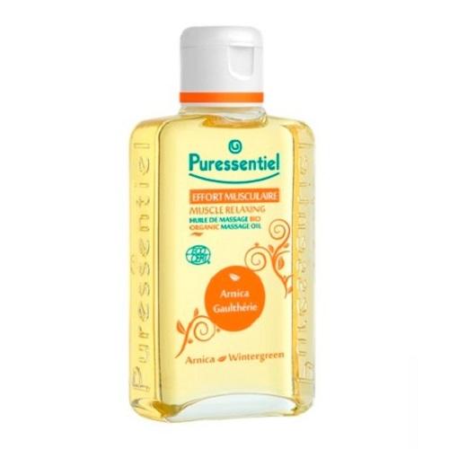 Puressentiel Органическое массажное масло расслабляющее с арникой и гаультерией 100 мл (Puressentiel, Хорошее самочувствие) puressentiel органическое массажное масло отдохнуть и расслабиться 100 мл puressentiel хорошее самочувствие