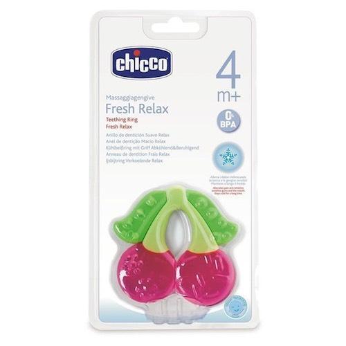 Прорезыватель Fresh Relax Вишня ,4мес.+, охлаждающий (Прорезыватели) (Chicco)