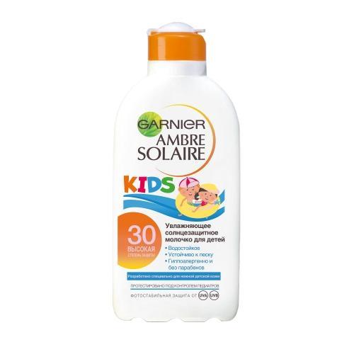 AMBRE SOLAIRE Защита для детей Молочко SPF30 200мл (Amber solaire) от Pharmacosmetica