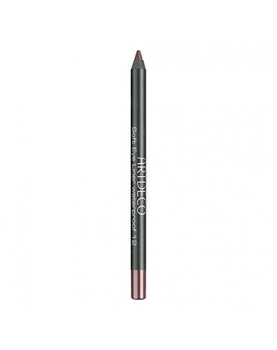 Водостойкий карандаш для век, тон 12, коричневый, 1,2 г (Artdeco, Artdeco) artdeco soft eye liner waterproof warm dark brown карандаш для глаз водостойкий тон 12 коричневый 1 2 г